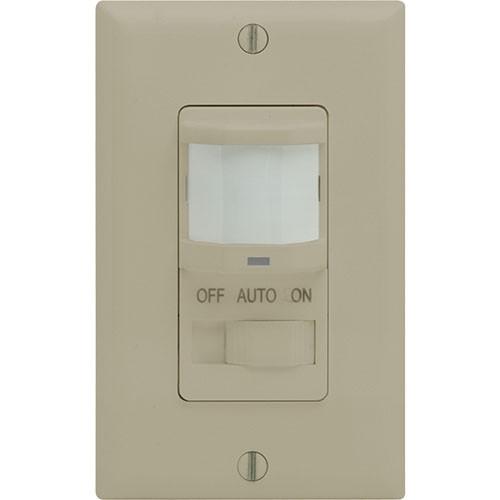 PIR, Auto/On/OFF Setting, Wall Mount Occ Sensor