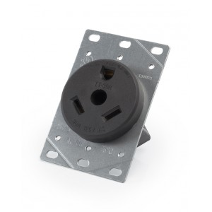 30A 3-wire Grounded Flush-mount Receptacle