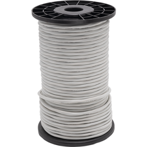 18/10 THERMOSTAT WIRE, 250FT REEL, WHITE