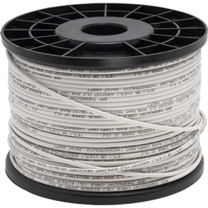 20/2 THERMOSTAT WIRE, 500FT REEL, WHITE