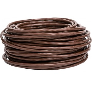 18/8 THERMOSTAT WIRE, 500FT REEL, BROWN