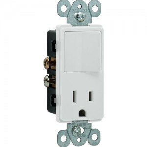 Combination Decorator Switch & Receptacle