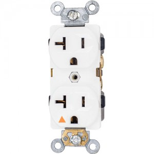 20A 125V Isolated Ground Duplex Receptacle, 5-20R