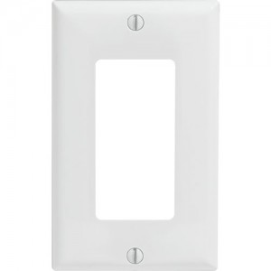 1-gang Decorator/GFCI Wallplate, Standard