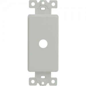 """Cable Adapter, 0.406"""" Opening, Decorator Frame"""