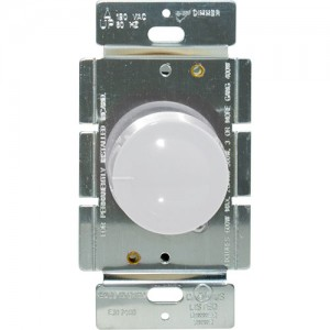 Rotary Dimmer, Incandescent, 600W