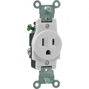 15A 125V Single Receptacle, 5-15R