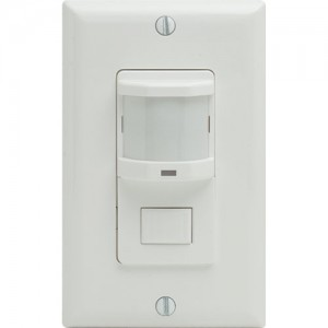 Infrared, Manual Override Switch, Wall Mount Occ Sensor