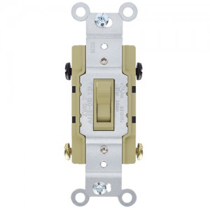 15A Four-Way Toggle Switch